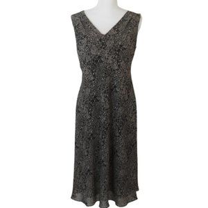 NEW Ann Taylor Loft Brown Floral Sheath Dress